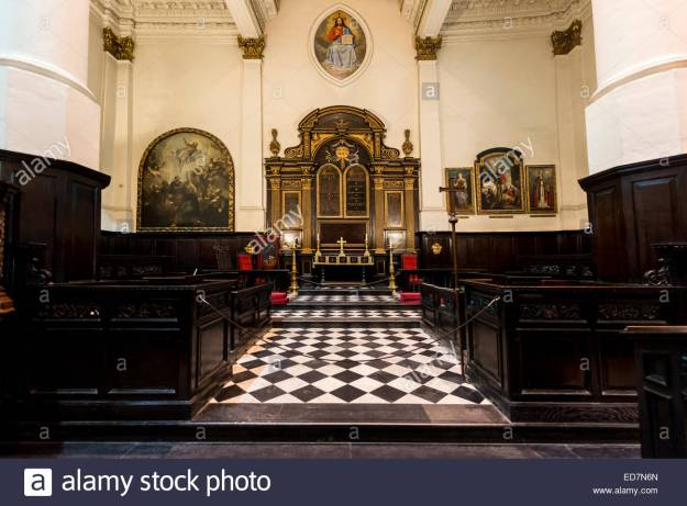 the-wren-church-of-st-martin-within-ludgate-a-christopher-wren-designed-ED7N6N