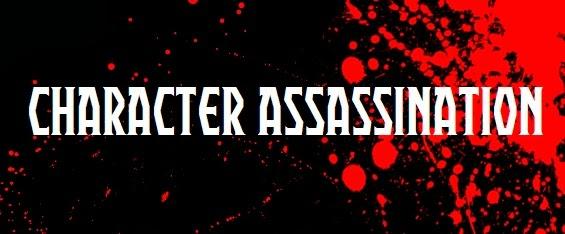 character assassination button